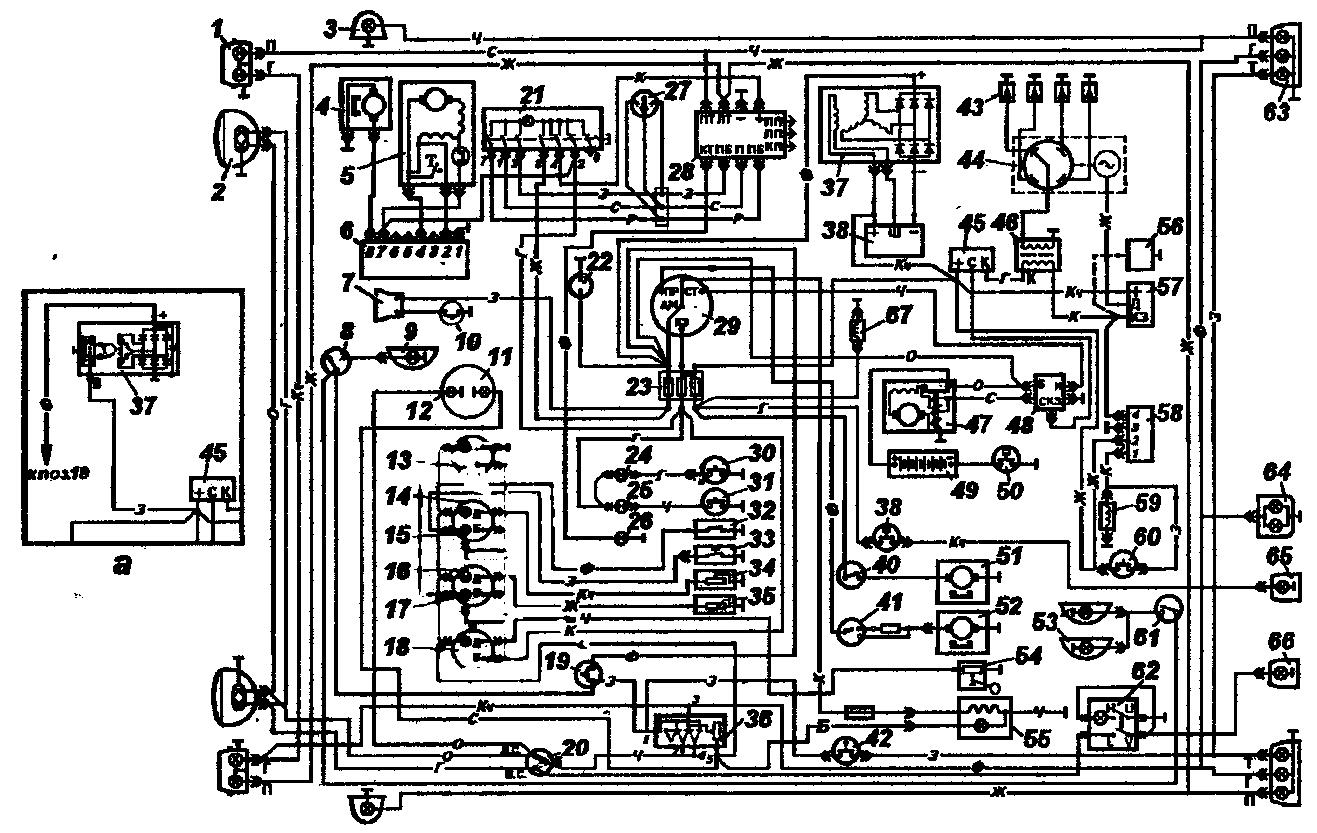 электросхема уаз 390994 инжектор
