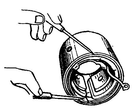 Проверка замыкания катушек обмотки возбуждения на корпус