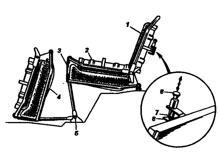 Установка трехместного сиденья