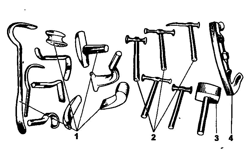 Комплект инструмента для правки кузова